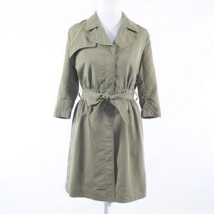 Banana Republic green 3/4 sleeve shirt dress 2